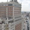 Demolición interior edificio España en Madrid
