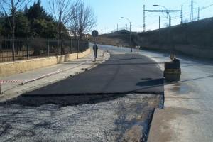 asfalto en utrera